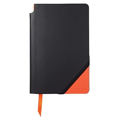 Тефтер А5 Cross Accessories Jot Zone - колекция тефтери Black and Orange