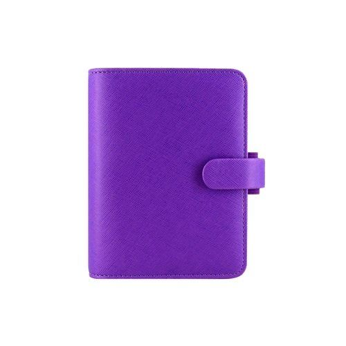 Pocket Organizer Filofax Organizers Saffiano Bright Purple