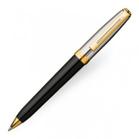 Химикалка Sheaffer Prelude Black Laque Barrell Palladium Plated Cap GT