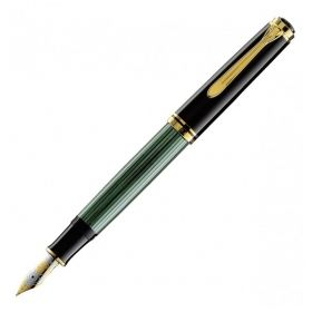 Писалка Pelikan Souveran 1000 Series Black/green