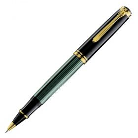Ролер Pelikan Souveran 600 Series Black/green