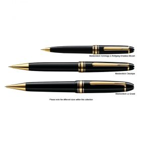 Химикалка Montblanc Meisterstuck 164 Classique Black/Red Gold