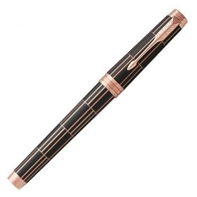 Писалка Parker Royal Premier Deluxe Black/Silver