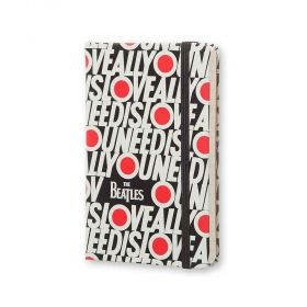 Джобен тефтер Moleskine The Beatles All You Need Is Love с широки редове, Limited Edition