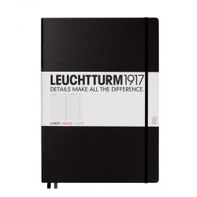 Тефтер А4+ Leuchtturm1917 Notebook Master Black