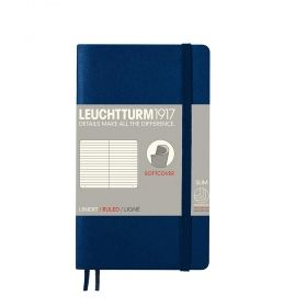 Тефтер А6 Leuchtturm1917 Notebook Soft Pocket Blue