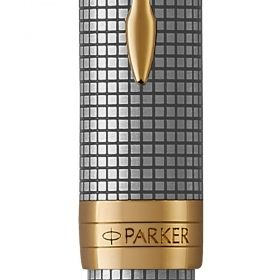 Писалка Parker Royal Sonnet Premium Chiseled Silver/Gold