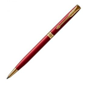 Химикалка Parker Royal Sonnet Slim Red/Gold