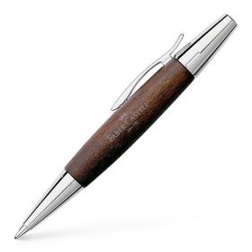 Химикалка Faber - Castell E-Motion Pearwood Dark Brown