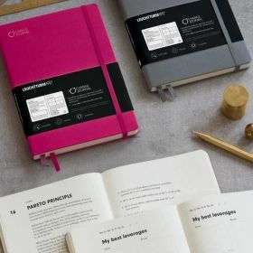 Тефтер А5 Leuchtturm1917 Change Journal Notebook, твърди корици