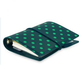 Pocket Organizer Filofax Organizers Domino Green