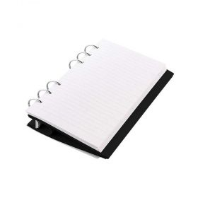 Тефтер Filofax Clipbook Classic A5 Notebook Black с метални рингове