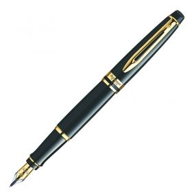 Писалка Waterman Expert Laque Black/Gold