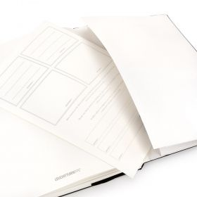 Тефтер А5 Leuchtturm1917 Notebook Medium Black