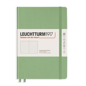 Тефтер А5 Leuchtturm1917 Notebook Medium Powder Squared, твърди корици