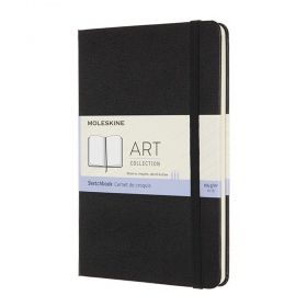 Тефтер Moleskine Art Sketchbook Medium Scarlet Red с твърди корици