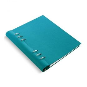 Тефтер Filofax Clipbook Classic A5 Notebook Pastel Rose с метални рингове