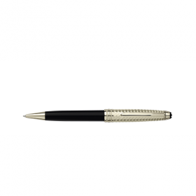 Химикалка Montblanc Meisterstuck Solitaire Doue Geometric dimension - champagne-tone gold