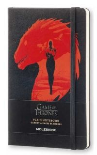 Голям тефтер Moleskine Game Of Thrones, нелиниран