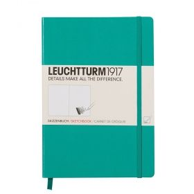Тефтер А5 Leuchtturm1917 Sketchbook Medium, твърди корици
