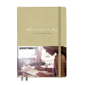 Тефтер А5 Leuchtturm1917 Notebook Some Lines a day, твърди корици